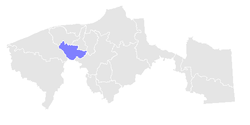 Location within Tabasco