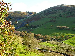 Cymerau quarry Slate quarry in Wales, UK