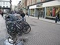 Cycle rack - Sidney Street - geograph.org.uk - 766616.jpg
