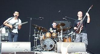 Cynic (band) - Image: Cynic live 2009 2