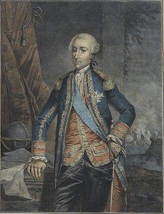 Charles Henri Hector d'Estaing - Image: D'Estaing (Fraiselhim)