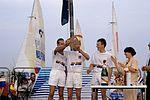 Dériveurs 18 pieds australiens au Salon Nautique International à Flot de La Rochelle 1987 (30).jpg
