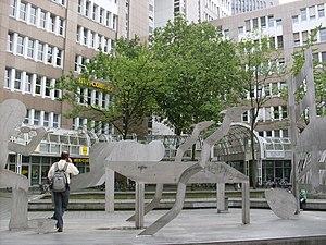 Düsseldorf-Oberbilk - Berta-von-Suttner-Platz