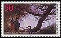 DBP 1974 815 Caspar David Friedrich, Mann und Frau den Mond betrachtend.jpg