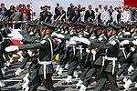 DESTACAN LABOR DE LAS FUERZAS ARMADAS EN CEREMONIA POR 150 ANIVERSARIO DE COMBATE DEL 2 DE MAYO (26754148976).jpg