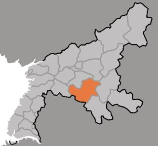 Songchon County County in South Pyŏngan, North Korea