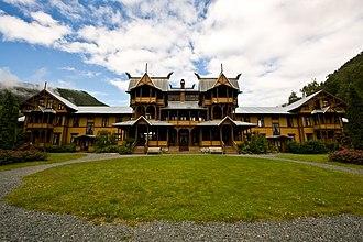 Haldor Børve - Dalen Hotel, built 1894, is Børve's best-known work.