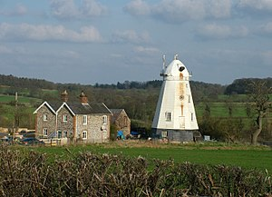 Grade II* listed buildings in Forest Heath - Image: Dalham smock mill