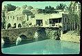 Damascus, Palmyra and Baalbek. An old bridge on the River Oeontes, (i.e., Orontes) near Riblah. II Kings 23-33 LOC matpc.22984.jpg
