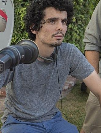 Damien Chazelle - Chazelle directing La La Land in 2015