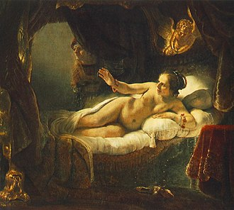 Pierre Crozat - Rembrandt's painting Danae from Crozat's collection.