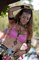 Dancing in the belly dance competition (8008104571).jpg