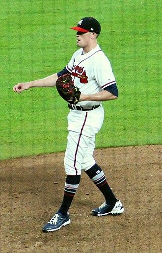 Daniel Winkler (baseball) - Winkler with the Atlanta Braves in 2018