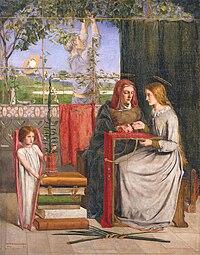 Dante Gabriel Rossetti - The Girlhood of Mary Virgin.jpg