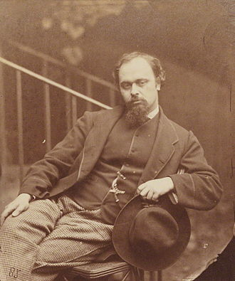 Evelyn Waugh - Dante Gabriel Rossetti, the subject of Waugh's first full-length book (1927)