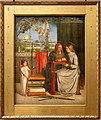Dante gabriel rossetti, l'infanzia della vergine maria, 1848-49.jpg