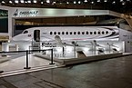 Dassault Falcon 6X cabin mock-up at EBACE 2019, Le Grand-Saconnex (EB190147).jpg