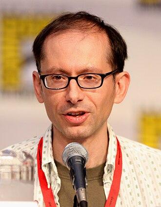 David X. Cohen - Cohen at the 2010 San Diego Comic-Con International.