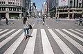 De Ginza-straat gezien vanaf de Ginza 4-chōme kruising, -27 april 2014 a.jpg