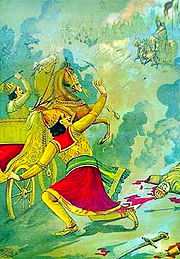 Death of Karna
