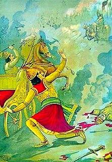 Karna Parva eighth book of the Mahabharata