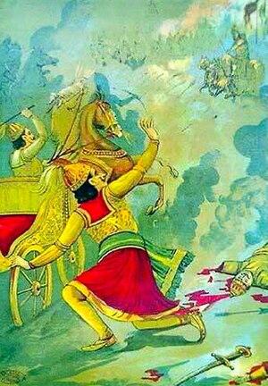 Duryodhana - Killing of Karna