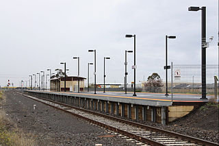 Deer Park railway station railway station in Deer Park, Melbourne, Victoria, Australia
