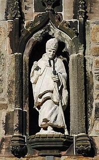 Deiniol Welsh saint, first bishop of Bangor