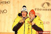 Dekoracja medalowa sprintu drużynowego w kombinacji norweskiej (10)