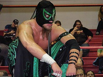 Delirious (wrestler) - Delirious in the ring in 2009