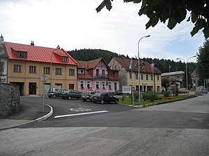 Delnice - Delnice town center