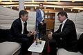 Dep Sec. Blinken has bilateral talks with Slovakian Foreign Minister Miroslav Lajčák during a break of the OSCE conference in Potsdam. (29399570135).jpg