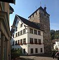 Der schwarze Turm in Braun - panoramio.jpg