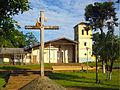 Desde la plaza, iglesia de Santiago de Chiquitos.jpg