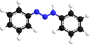 Triazene - Image: Diaminebenzene model 3d