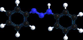 Triazene - Image: Diaminebenzene model 3d