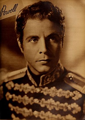 Hearts Divided - Dick Powell as Jérôme Bonaparte