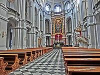 Die Katholische Hofkirche in Dresden, geweiht der heiligsten Dreifaltigkeit (Sanctissimae Trinitatis), ist Kathedrale des Bistums Dresden-Meißen - panoramio.jpg