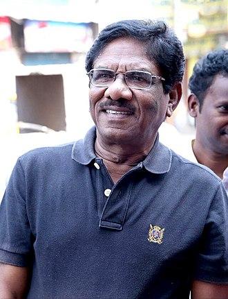 P. Bharathiraja - Image: Director Bharathiraja at Salim Movie Audio Launch