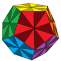 Disdyakis triacontahedron dodecahedral 12-color.png