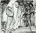 Disegno per copertina di libretto, disegno di Peter Hoffer per Mosè in Egitto (s.d.) - Archivio Storico Ricordi ICON012411.jpg