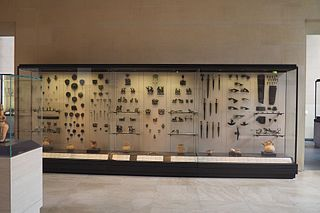 Near Eastern Antiquities, room 11, display case 10
