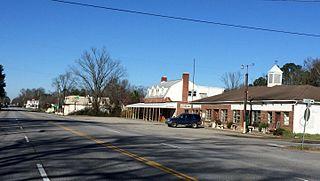 Disputanta, Virginia Unincorporated community in Virginia, United States