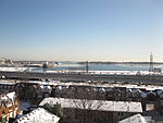 Distant view of the Algolake, moored in Toronto harbour, from H, 2013 02 09 -cu.jpg