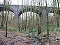 Disused viaduct in Newmiller Dam Country Park. - geograph.org.uk - 144202.jpg