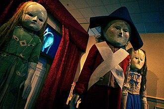 Night Terrors (Doctor Who) - The dolls as they appear at the Doctor Who Experience.