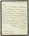 Document, Letter from George Troup, 1818 (CH 18609889).jpg
