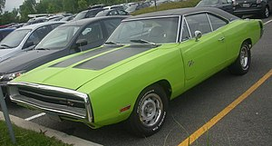 Dodge Charger photographed in Laval, Quebec, C...
