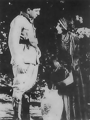 Abdolhossein Sepanta - Sadiqeh Saminejad and Abdolhossein Sepanta in Lor Girl, directed by Ardeshir Irani, 1933