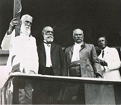 Dole, Cooper, Thurston, and Iaukea, Hawaii, 1923.jpg
